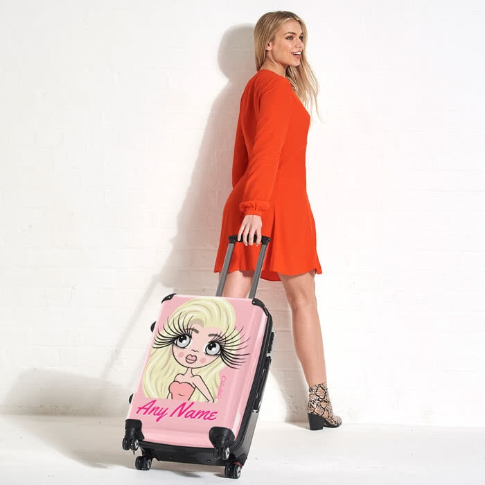 ClaireaBella Close Up Suitcase - Image 4