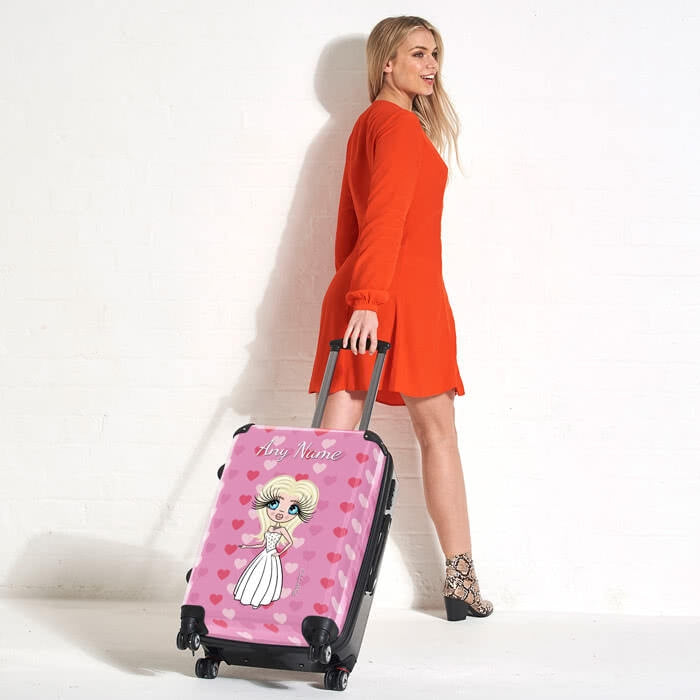 ClaireaBella Heart BrideaBella Suitcase - Image 5