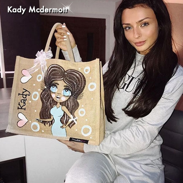 ClaireaBella Large Jute Bag - Image 6