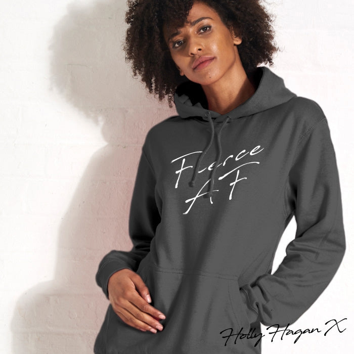 Holly Hagan X Fierce A.F Hoodie - Image 2