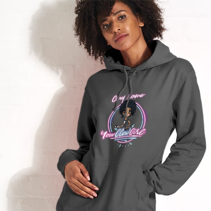ClaireaBella You Glow Girl Hoodie - Image 2