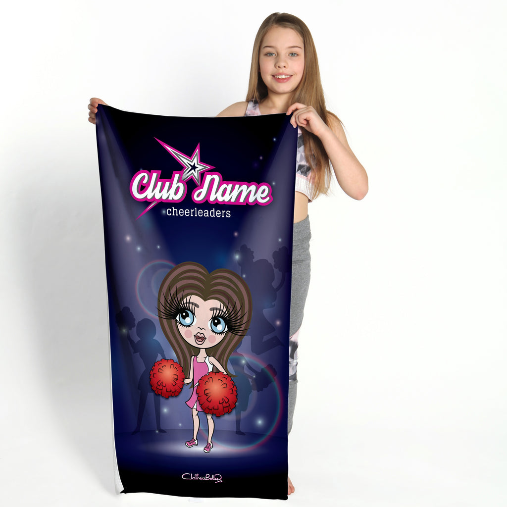 ClaireaBella Girls Cheerleading Gym Towel - Image 1