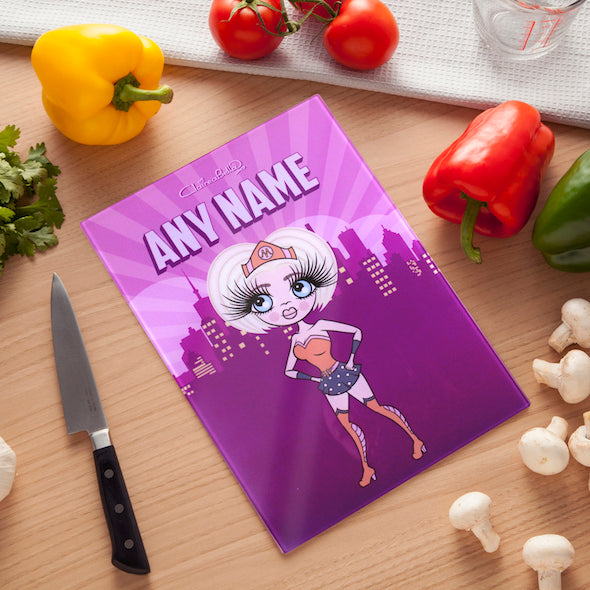 ClaireaBella Glass Chopping Board - WonderMum - Image 1