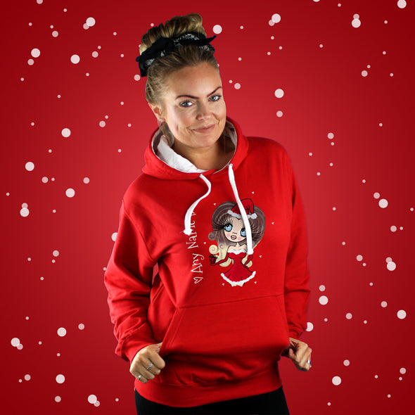 ClaireaBella Christmas Hoodie - Image 1