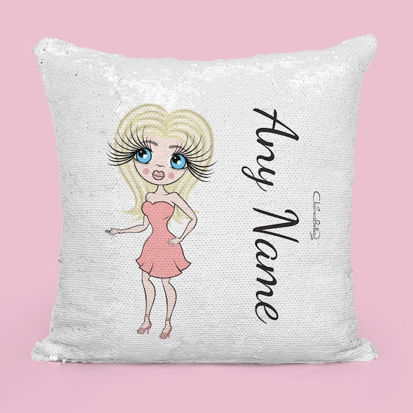 ClaireaBella Classic Sequin Cushion - Image 4