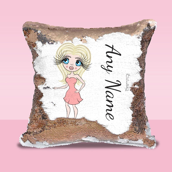 ClaireaBella Classic Sequin Cushion - Image 1