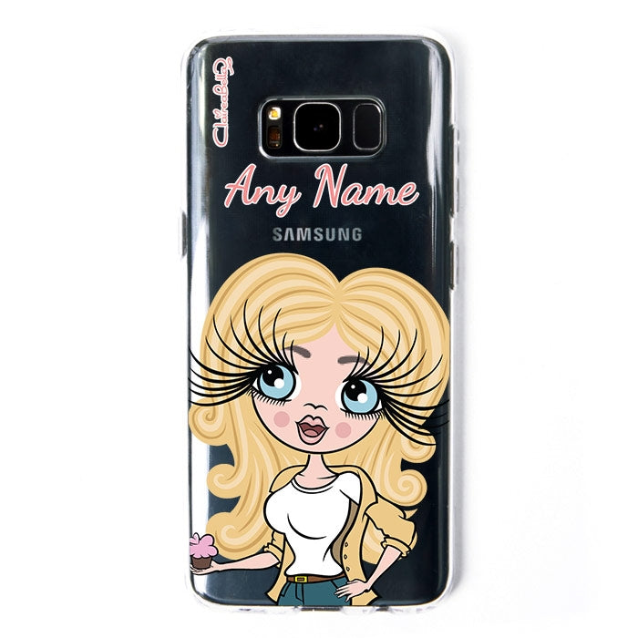 ClaireaBella Close Up Clear Soft Gel Phone Case - Image 2