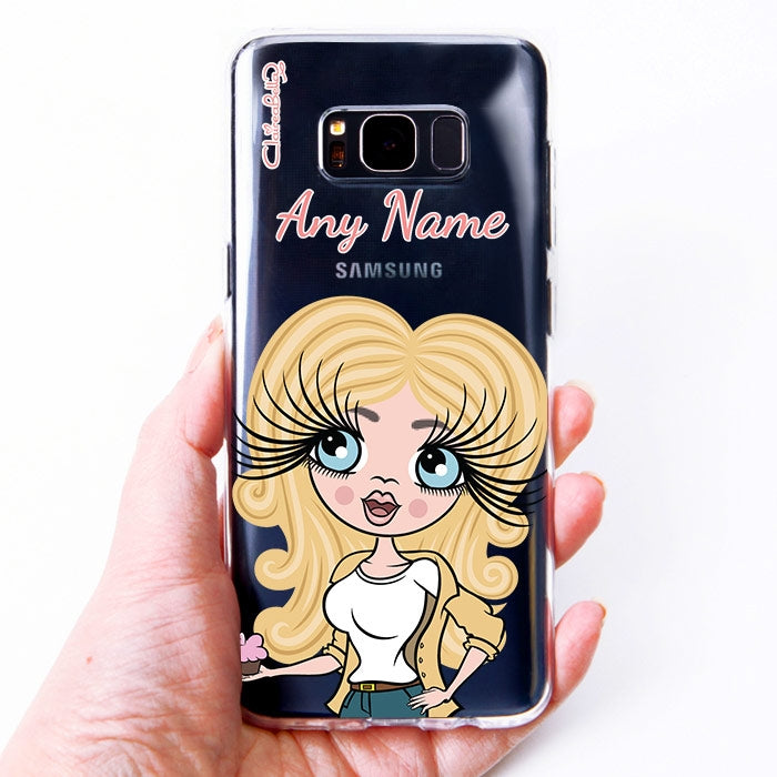 ClaireaBella Close Up Clear Soft Gel Phone Case - Image 3