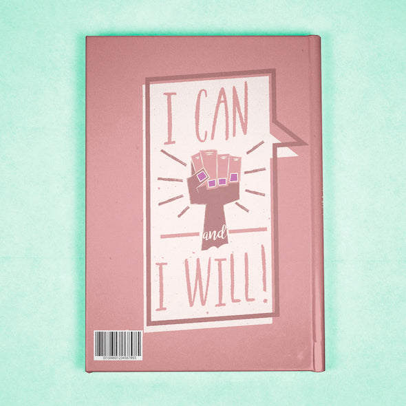 ClaireaBella A5 Hardback Diary - Close Up - Image 8