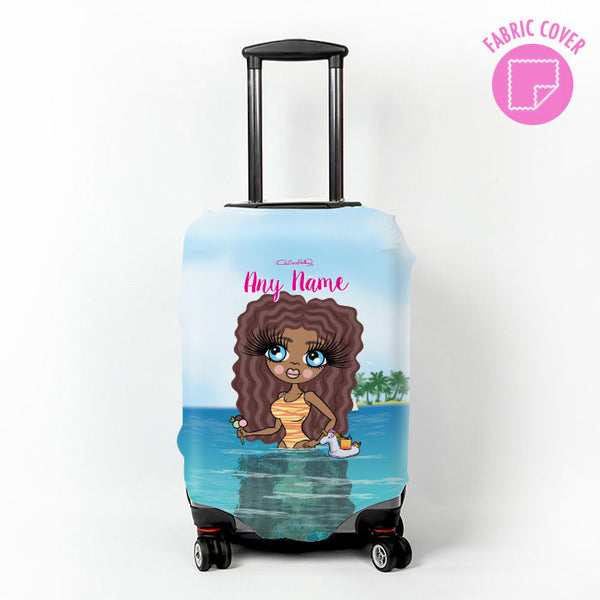 ClaireaBella Seaside Cocktails Suitcase Cover