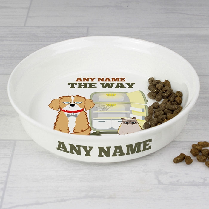 Grumpy Cat Your Feeding Sucks Small Dog Bowl - Image 2