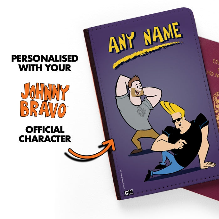 Johnny Bravo Guys Purple Passport Cover - Image 2
