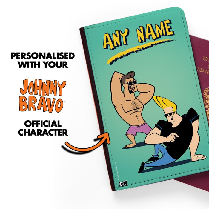 Johnny Bravo Guys Mint Passport Cover - Image 2