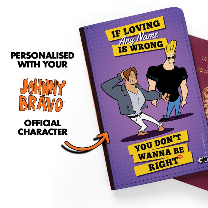 Johnny Bravo Guys Loving Me Passport Cover - Image 2