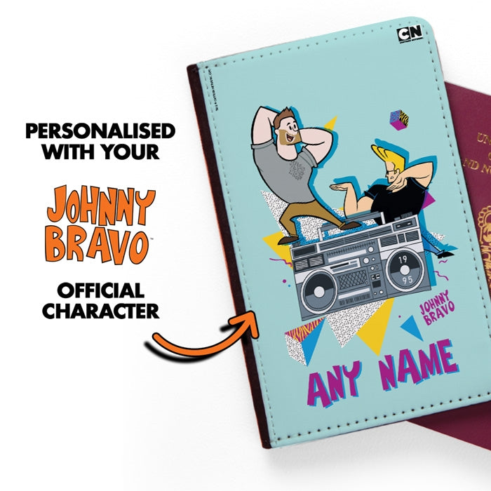 Johnny Bravo Guys 90s Blast Passport Cover - Image 2