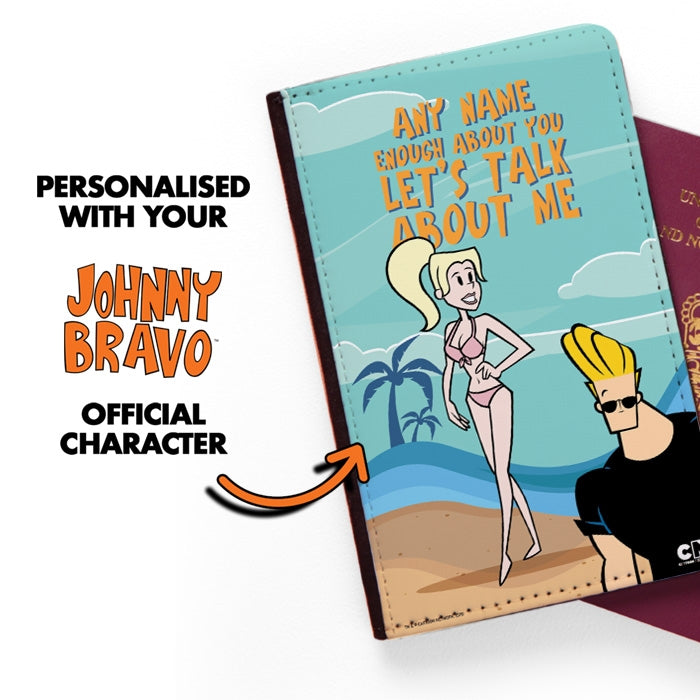 Johnny Bravo Ladies Let's Talk Passport Cover - Image 2