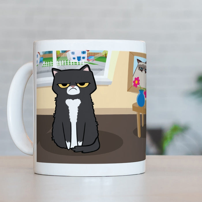 Grumpy Cat Rise And Shine Mug - Image 5