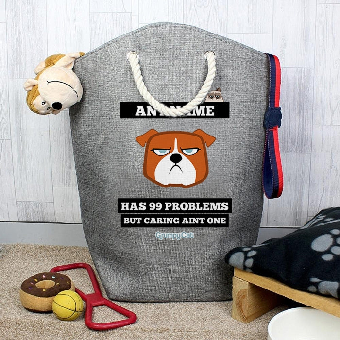 Grumpy Cat 99 Problems Pet Storage Bag - Image 1