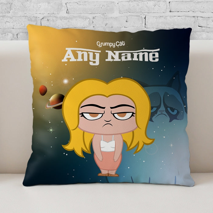 Grumpy Cat Space Cushion - Image 2