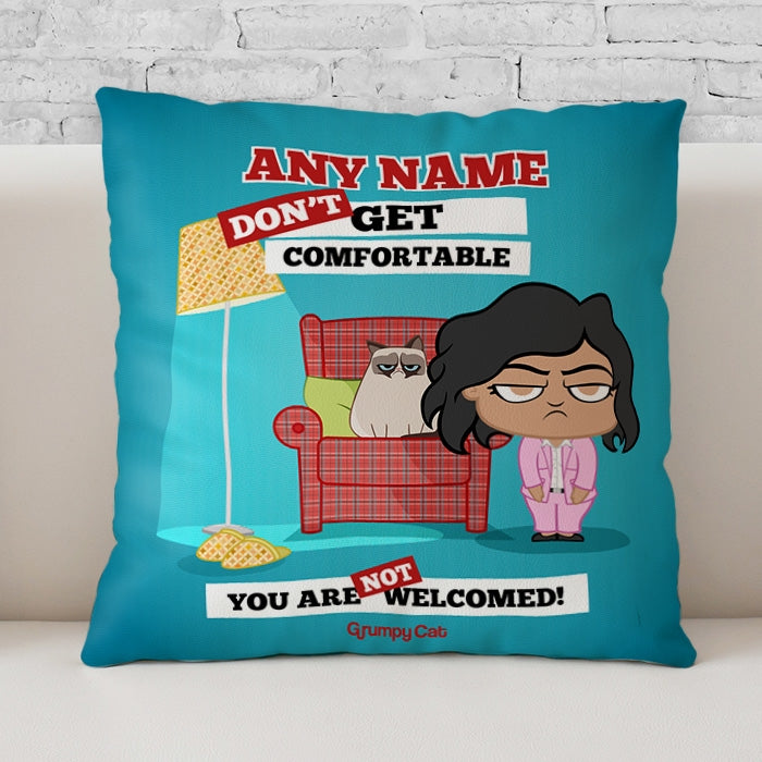 Grumpy Cat Not Welcomed Cushion - Image 1