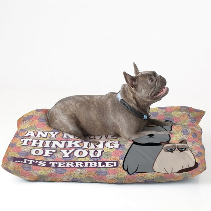 Grumpy Cat Lovehearts Pet Bed - Image 2