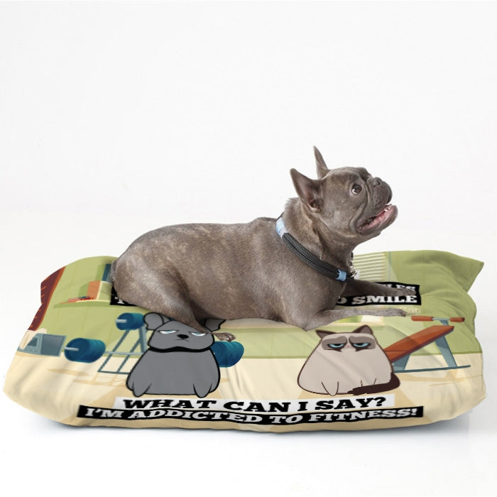 Grumpy Cat Exercise Pet Bed - Image 2