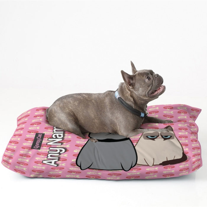 Grumpy Cat Fish Collar Pet Bed - Image 2