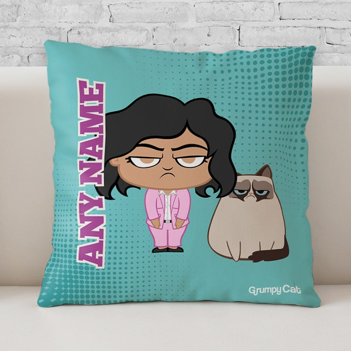 Grumpy Cat Mint Cushion - Image 1