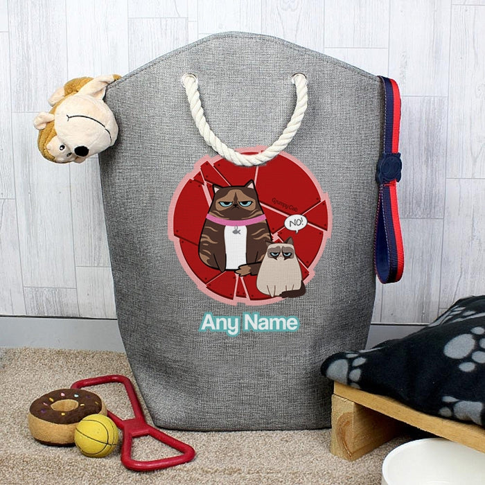 Grumpy Cat Red Pet Storage Bag - Image 1