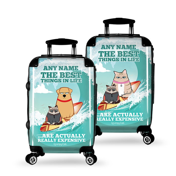 Grumpy Cat Best Things Suitcase - Image 2