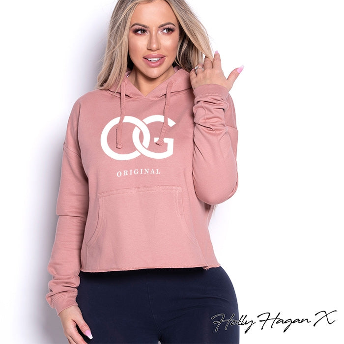 Holly Hagan X OG Cropped Hoodie - Image 1
