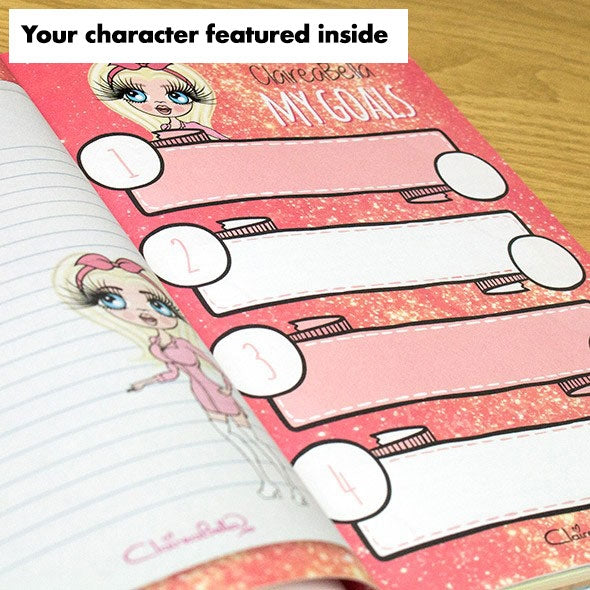 ClaireaBella A5 Hardback Diary - Neon Leaf - Image 2