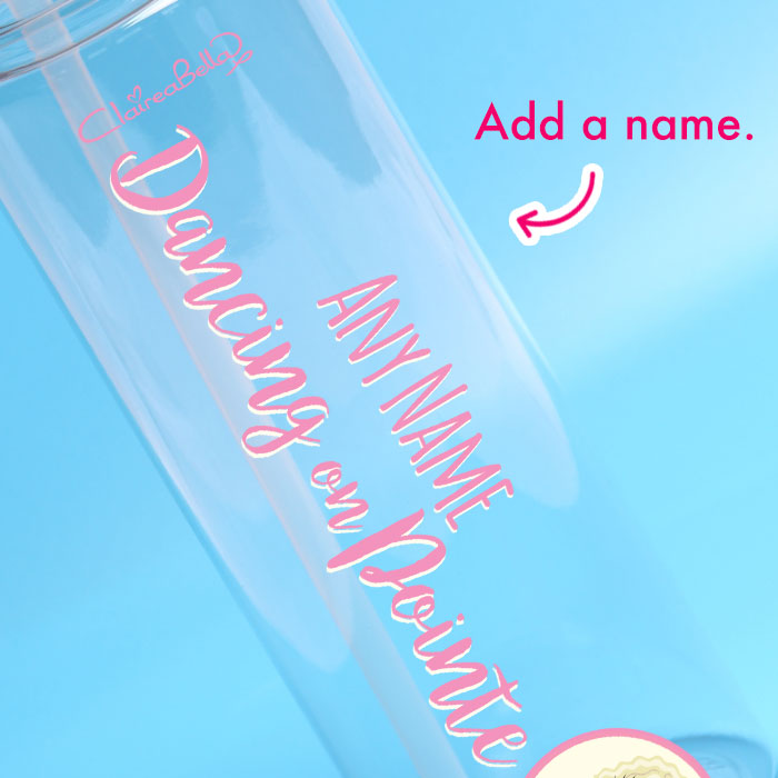 ClaireaBella Girls Dance Water Bottle