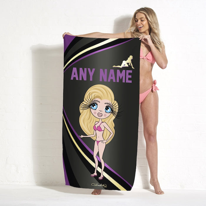 ClaireaBella Dark Fruits Beach Towel - Image 6
