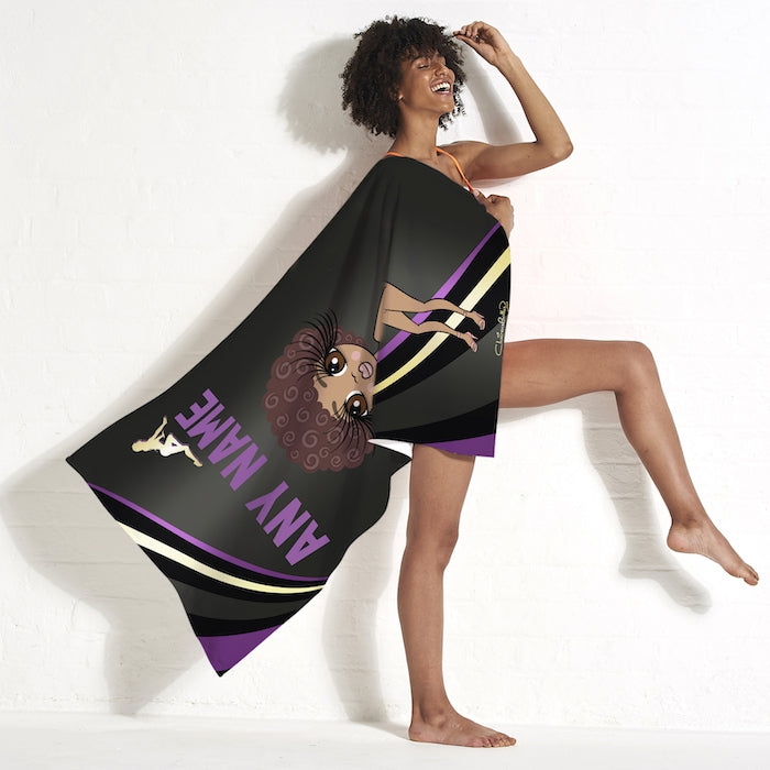 ClaireaBella Dark Fruits Beach Towel - Image 4