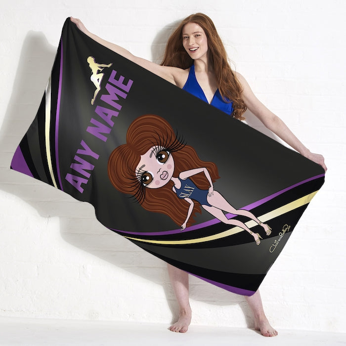 ClaireaBella Dark Fruits Beach Towel - Image 5