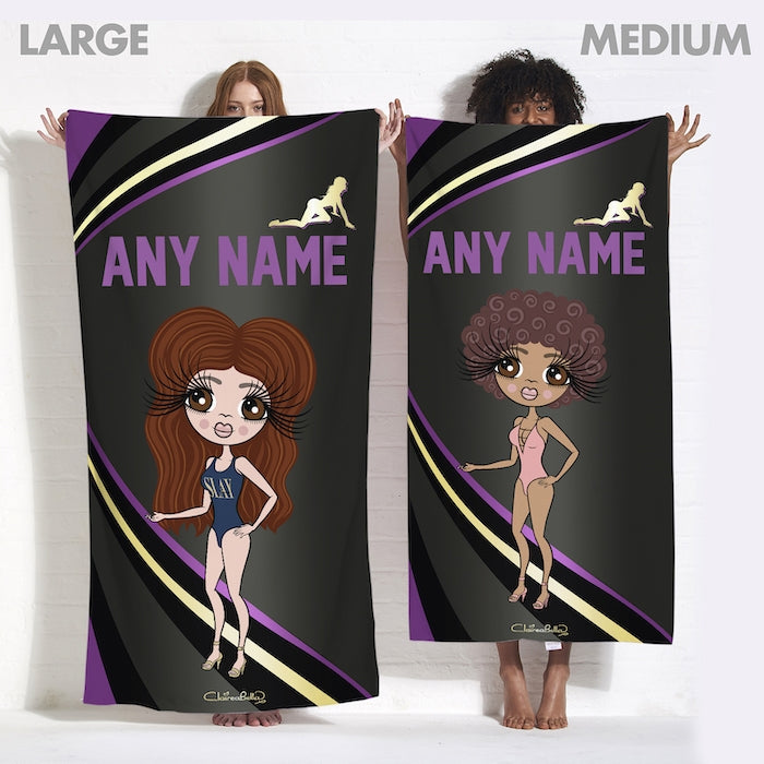 ClaireaBella Dark Fruits Beach Towel - Image 7