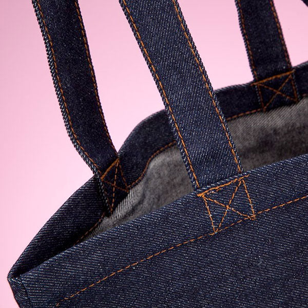 MrCB Denim Canvas Bag - Image 4