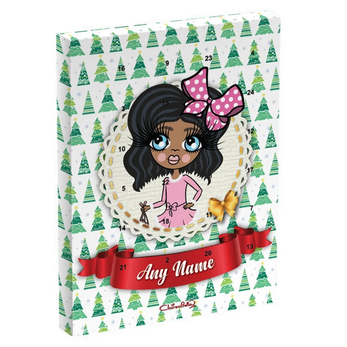 ClaireaBella Girls Christmas Tree Advent Calendar - Image 2