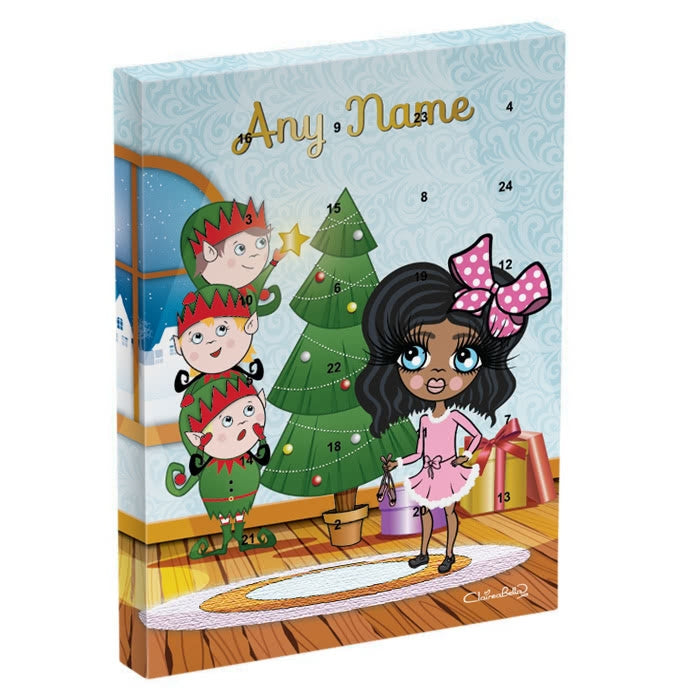 ClaireaBella Girls Santa's Helpers Advent Calendar - Image 2