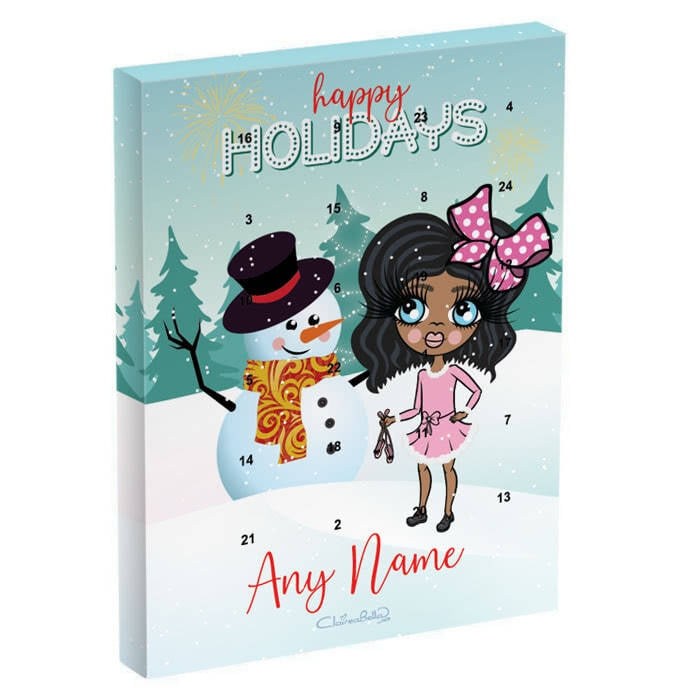 ClaireaBella Girls Snowman Advent Calendar - Image 2