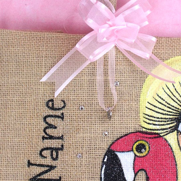 ClaireaBella Pool Side Large Jute bag - Image 3