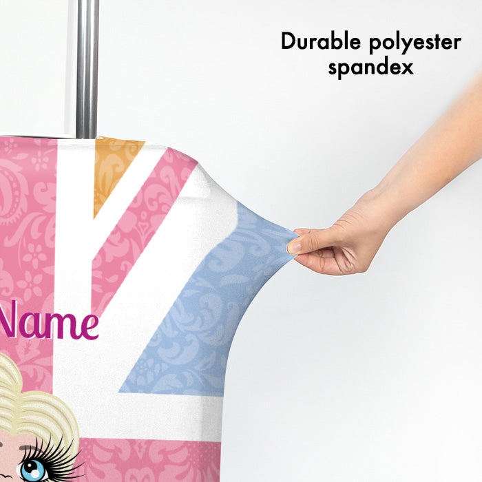 ClaireaBella Girls Union Jack Suitcase Cover - Image 3