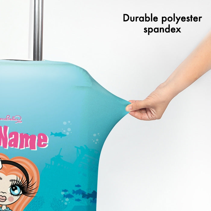 ClaireaBella Girls Mermaid Suitcase Cover - Image 3