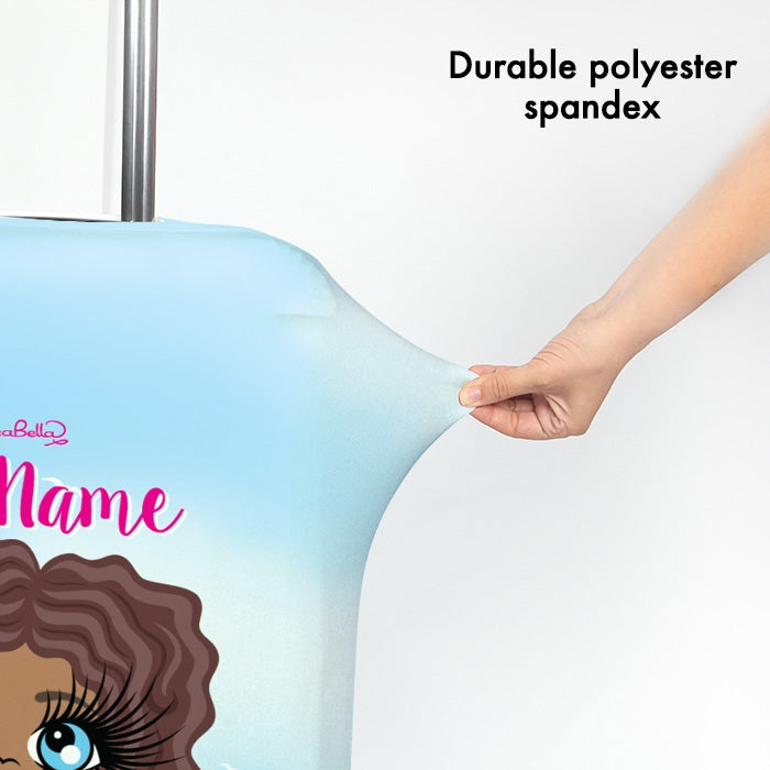 ClaireaBella Seaside Cocktails Suitcase Cover - Image 3