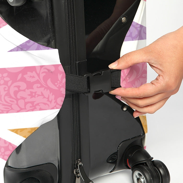 ClaireaBella Girls Union Jack Suitcase Cover - Image 4