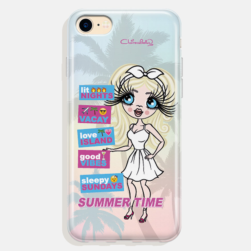 ClaireaBella Personalised Summertime Phone Case