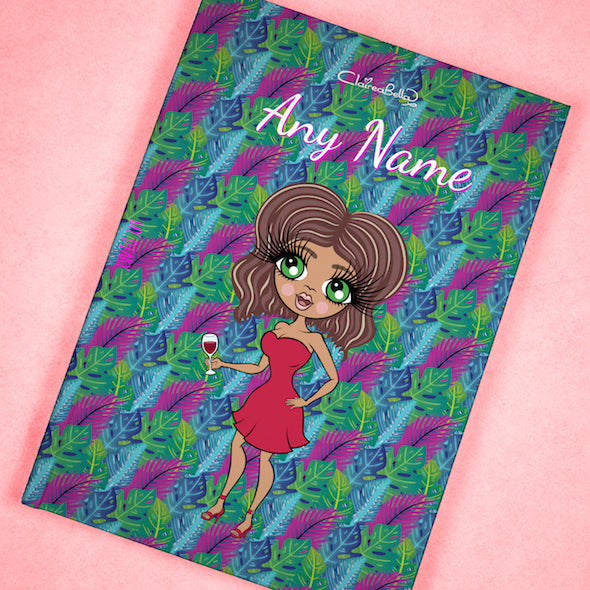 ClaireaBella A5 Hardback Diary - Neon Leaf - Image 8
