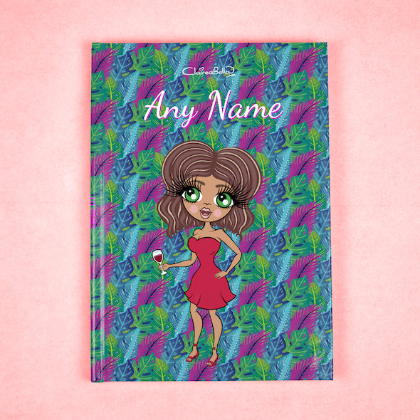 ClaireaBella A5 Hardback Diary - Neon Leaf - Image 1