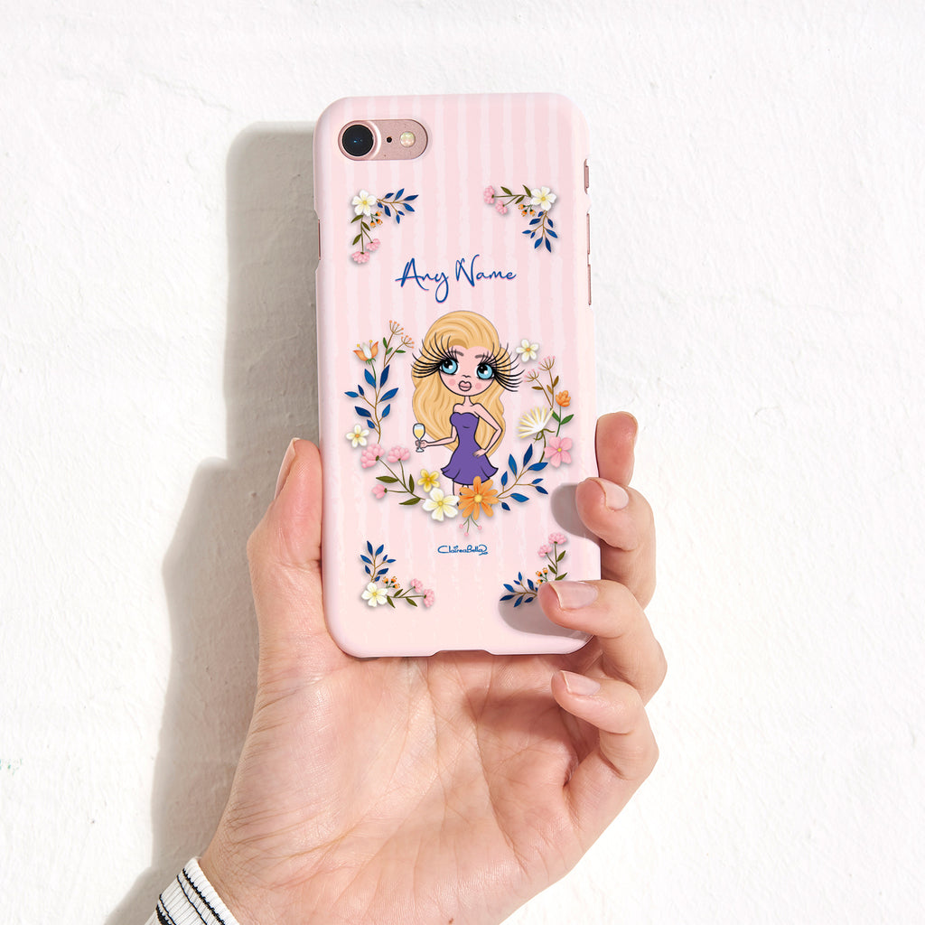 ClaireaBella Floral Frame Phone Case